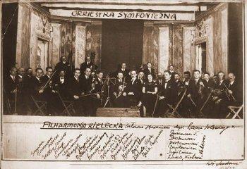 Orkiestra Symfoniczna zdjęcie arch. z 1936 r.